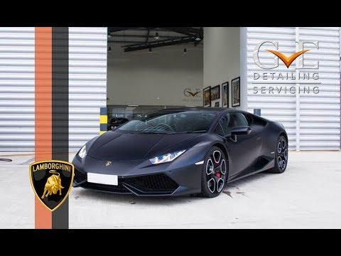 GVE Detailing: Lamborghini Huracan - Matte PPF Installation & Capristo Exhaust Fitting