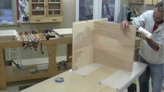 Shop Desk-bench-part 4-glue-up.mov