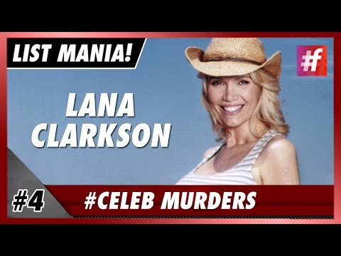 #fame hollywood -​​ Lana Clarkson - 5 Showbiz Murders The World Still Mourns