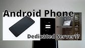 Android Webserver - YouTube