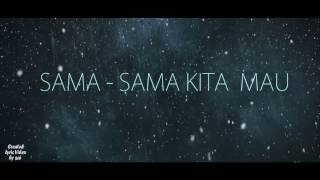 Soundtrack Ost._Nathan Dan Nadia - Sama Sama Mau_Lyric Video By saii