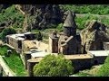 Geghard Monastery, Монастырь Гегард(Armenia). Unique architectural construction! (HD)