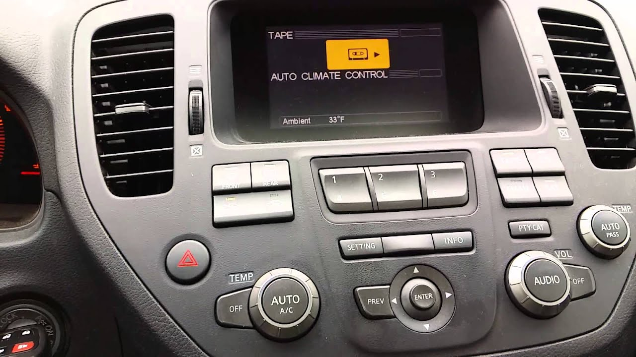 maxresdefault m45 2003 2004 auxiliary audio hack youtube 03 Infiniti G35 at gsmx.co