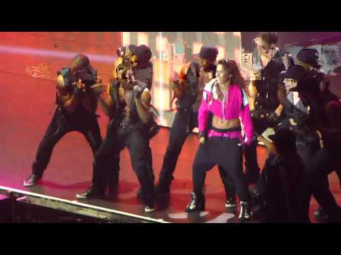 Cheryl: Call My Name Wideboys Remix Live Concert Finale 11th Oct 2012 Liverpool