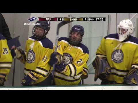 Highlights: Ice Hockey Opens NE-10 Slate with 4-1 Win Over Franklin Pierce