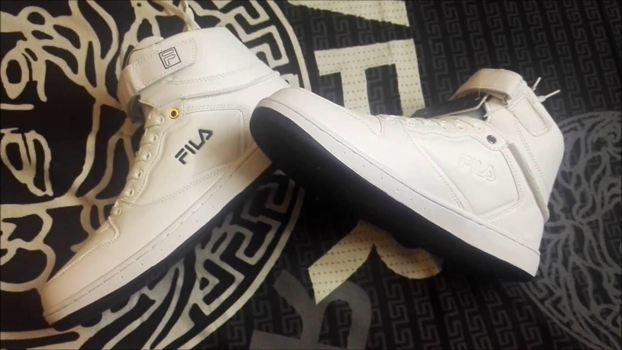 utsökt stil varm försäljning professionell försäljning Fila ROBERTO Mid Ankle Sneakers WHITE | UNBOXING+REVIEW - YouTube