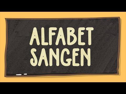 Alfabetsangen 4k - norsk sang for de minste/ baby/ barn