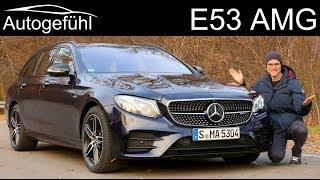 Mercedes E53 AMG FULL REVIEW Mercedes-AMG E-Class 53 Estate T-Modell - Autogefühl