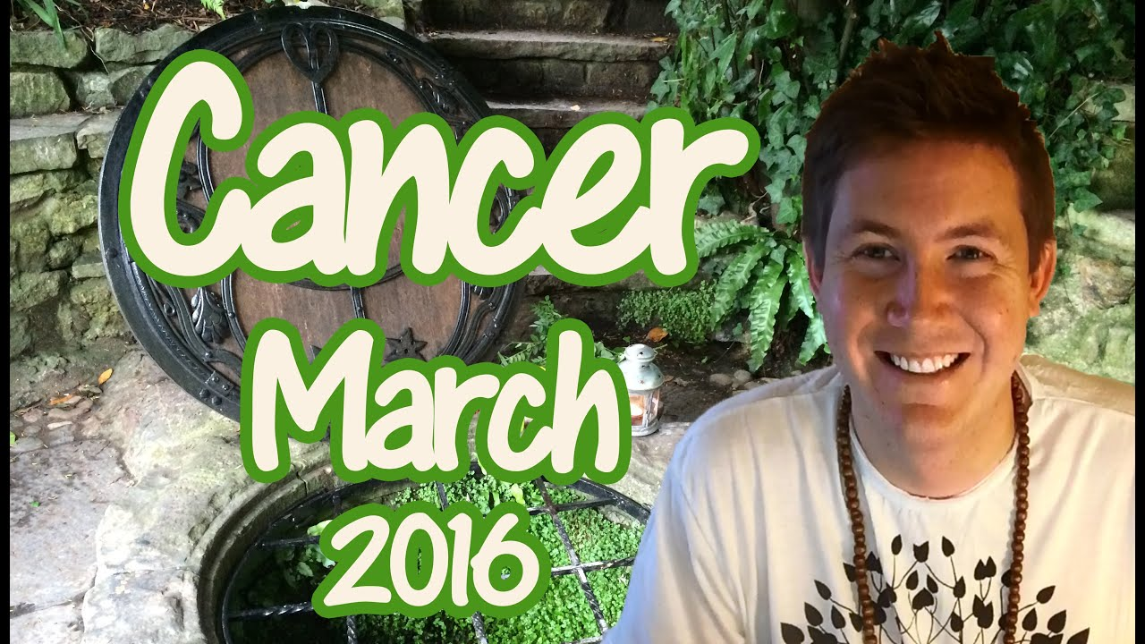 cancer march 2016 horoscope astrology for zodiac sign cancer youtube. Black Bedroom Furniture Sets. Home Design Ideas