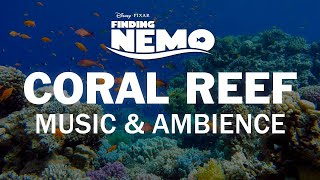 Finding Nemo | Disney Music & Ambience - Coral Reef Underwater Sounds for Sleep, Study, Relaxation