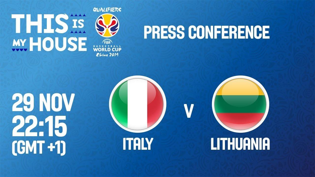 Italy v Lithuania boxscore - FIBA Basketball World Cup 2019 European