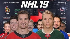 NHL 19 - SIMULATING EVERY TRADE FROM 2019 TRADE DEADLINE
