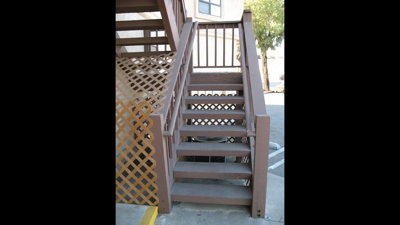 How To Strengthen Bottom Newel Post on 4 x 12 Closed Wood Stair ...