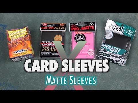 MTG Card Sleeves X - Ultra Pro, Dragon Shield Matte, KMC Hyper Mat Premium for Magic The Gathering