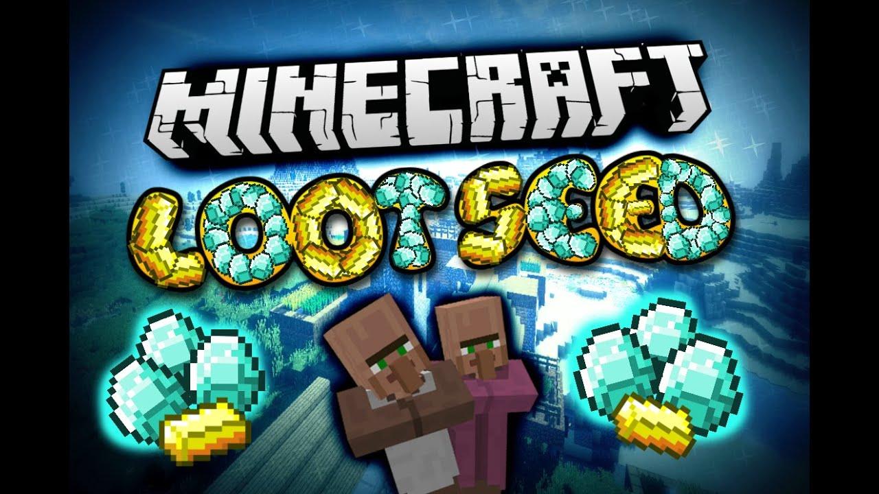 DIAMOND & LOOT SEED - Minecraft Seeds