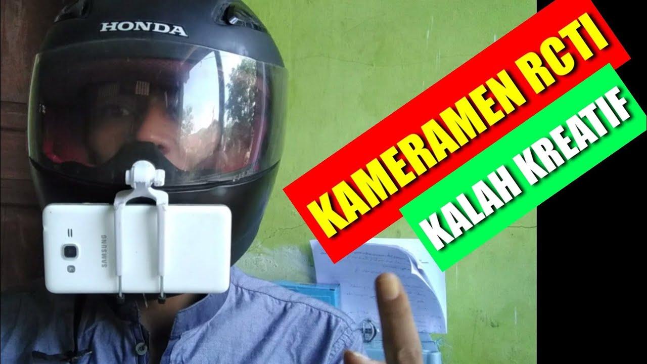 cara pasang holder kamera hp di helm - YouTube
