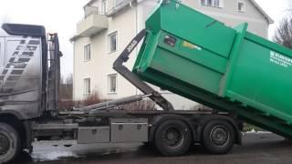 Sweden(Погрузка мусорного контейнера., 2014-12-18T11:32:17.000Z)