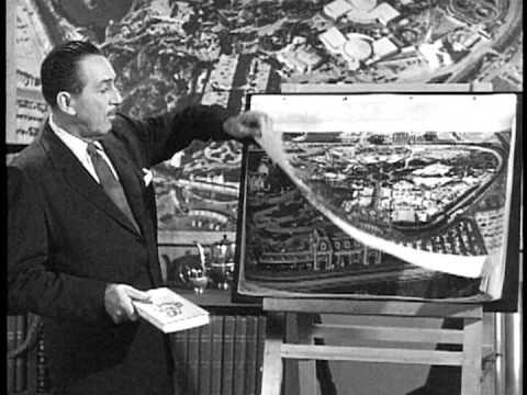 Walt Disney talks about Liberty Street