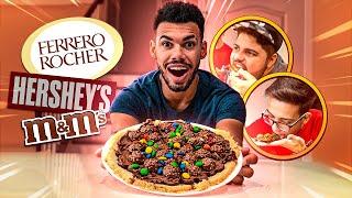 PIZZA COM OS MELHORES CHOCOLATES PARA BREAKMEN HOUSE!!! | Cris |