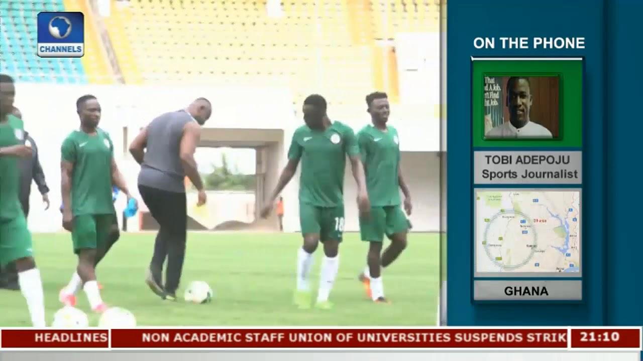 Nigeria To Play Ghana In 2017 WAFU Final   Sports Tonight  