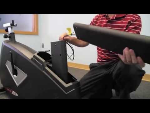Sole Fitness LCB Upright Bike Installation Step 2/4