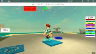 LUXURY HOTEL TYCOON / roblox part 1