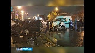 Серьезная авария произошла сегодня в Ярославле: «Вести» разбирались в произошедшем