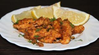Куриное филе с лимоном и чесноком. Кулинария. Рецепты. Понятно о вкусном.