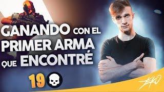 GANANDO CON LA PRIMER ARMA QUE ENCONTRÉ | zEkO