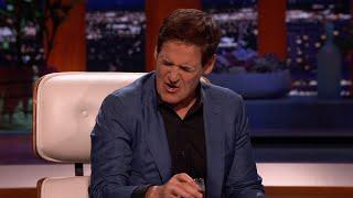 Mark Cuban Has a Big Reaction to Slate's Chocolate Milk - Shark Tank