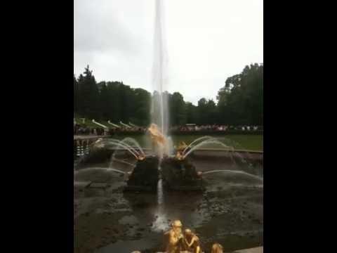 """""""Peterhof"""" Fountains, St. Petersburg, Russia"""