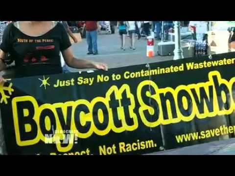 10 Arrested Protesting AZ Ski Resort's Fake Snow Plan on Mountain Sacred To Native Americans
