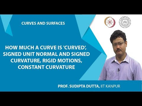 NPTEL :: Mathematics - NOC:Curves and Surfaces
