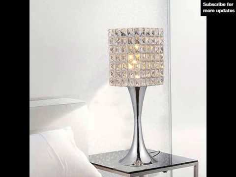 modern bedroom table lamps | modern table lamps - youtube