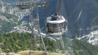 Monte Bianco, SkyWay, Курмайор Italian alps Шамоні to Aiguille du Midi з Бігти в з М
