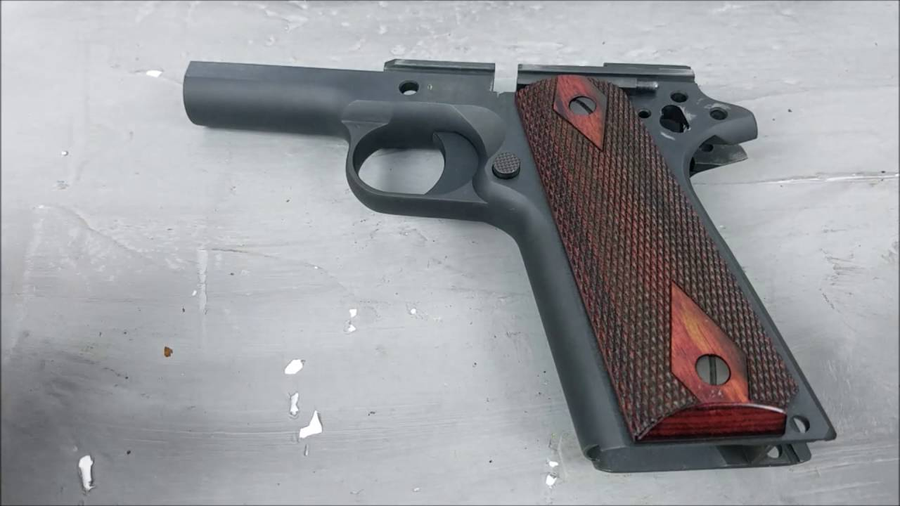 Before You Buy a Colt 1911 Watch this Video Part II Tisas vs Colt ...