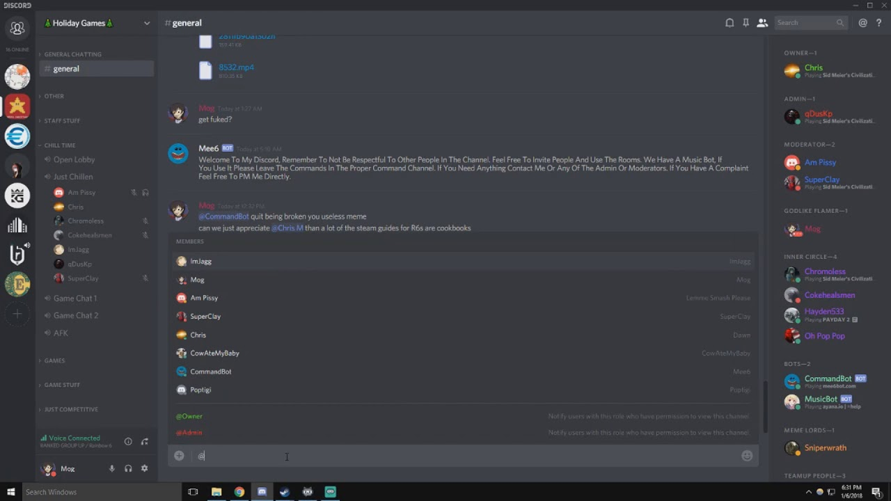 When Rainbow Six Siege/ Ubisoft Servers Are Down - Feat  R6S Reddit Discord