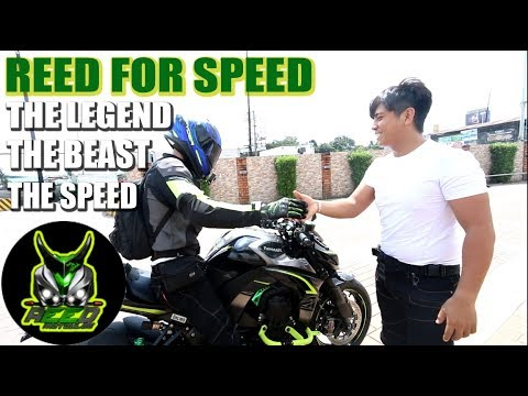 REED FOR SPEED THE FASTEST MOTOVLOGGER WANTS TO RACE   Kawasaki Z1000   Ducati V4 Speciale