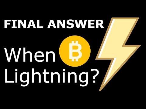 Final Answer: When Will Bitcoin Lightning Network Launch? ⚡