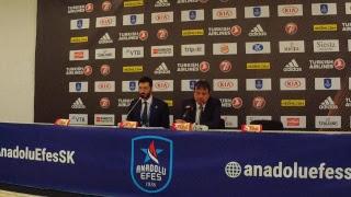 Anadolu Efes - AX Armani Exchange Olympia Milano Basın Toplantısı