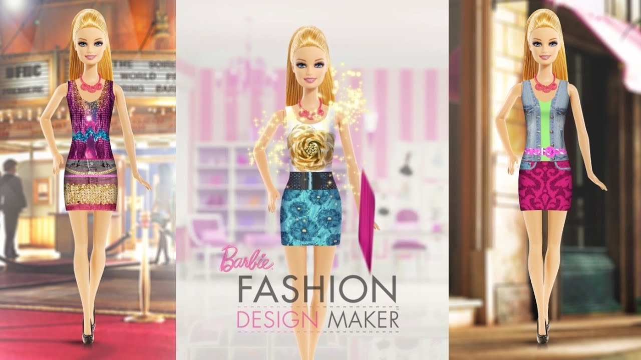 Barbie Fashion Design Maker Best Ipad App Demo For Kids Youtube