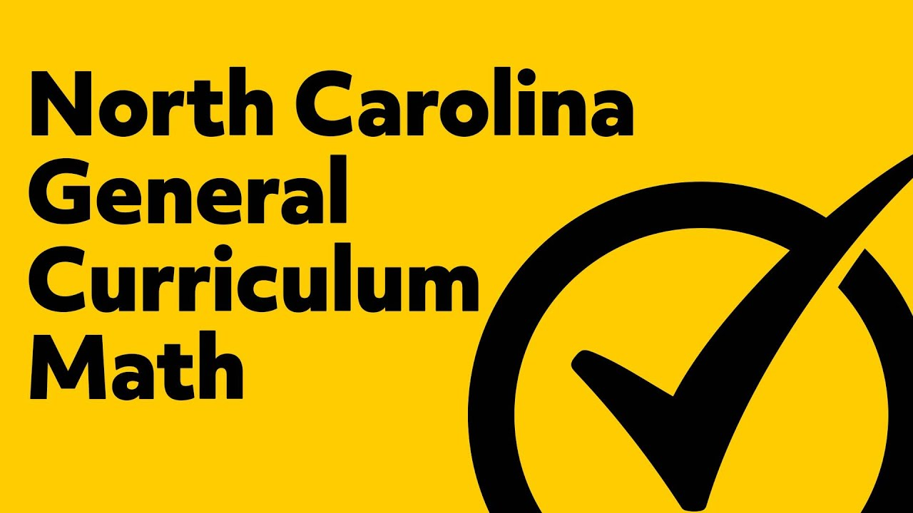 small resolution of Free North Carolina General Curriculum Math Practice Test - YouTube