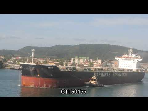 ARIS T PORT OF SANTOS SHIPSPOTTING JULY 2020 #16