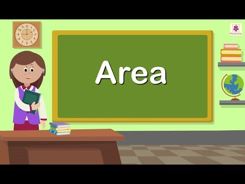 Area | Maths Concept For Kids | Maths Grade 5 | Periwinkle