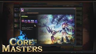 『コアマスターズ』実況プレイ 「パラモス」 カジュアルチーム模擬戦 Core Masters:Casual Japan
