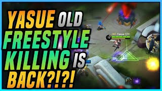 TOP 1 FANNY JAPAN IS BACK?! YASUE OLD FREESTYLE KILLING GAMEPLAY!