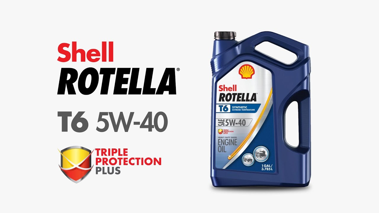 5W-40 Synthetic Diesel Oil | Shell Rotella® T6 Full Synthetic