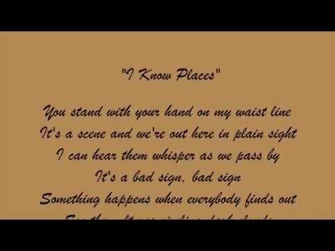 I Know Places - Taylor Swift LYRICS + AUDIO