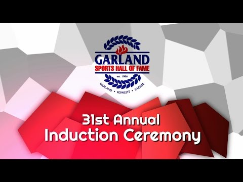 Garland ISD: Garland Sports Hall of Fame Ceremony 2017