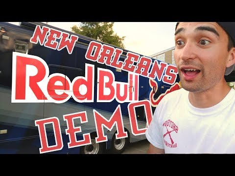 RED BULL SKATEBOARD DEMO // NEW ORLEANS